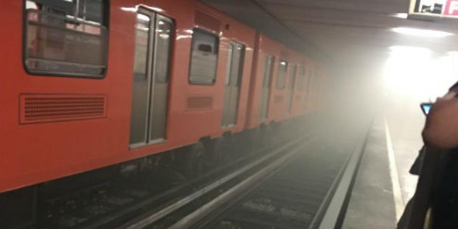 Suspenden servicio en 7 estaciones en L1 del Metro