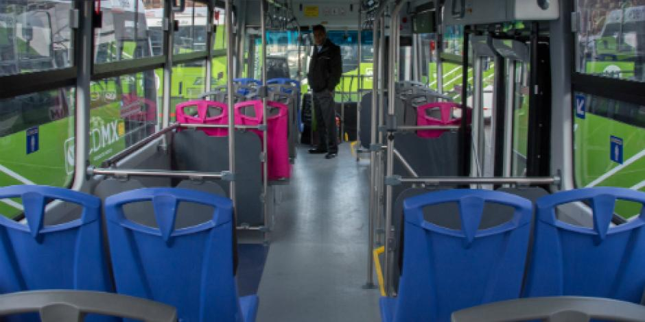 Sustituirán autobuses de Sistema M1 servicio de taxis de la ruta 50