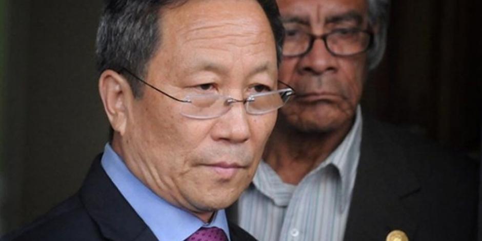 Embajador de Norcorea abandona México