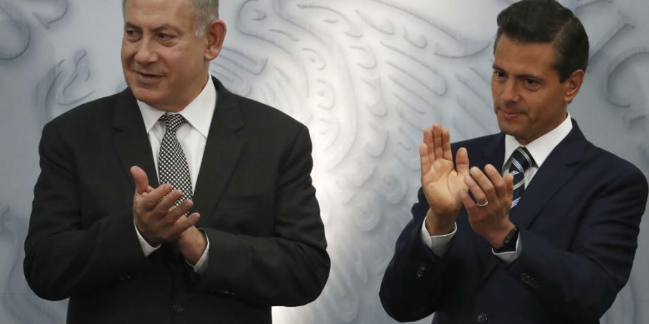 Acuerdan EPN y Netanyahu fortalecer ciberseguridad y comercio bilateral