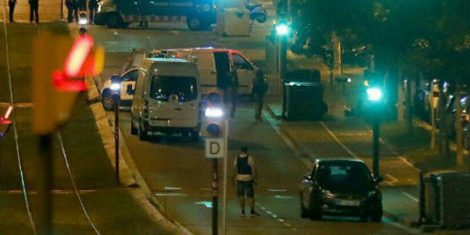 Abaten a terroristas en intento de atentado en Cambrils, Barcelona