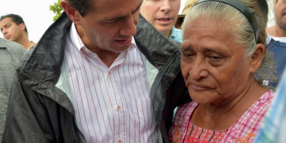 Apela EPN a solidaridad de IP para reconstrucción de Oaxaca y Chiapas