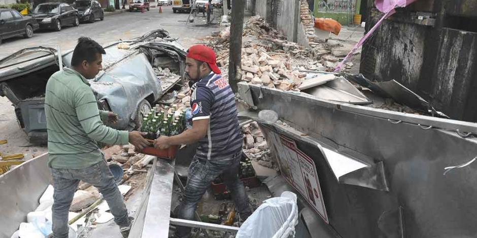 Mancera reporta saldo blanco tras temblor en CDMX
