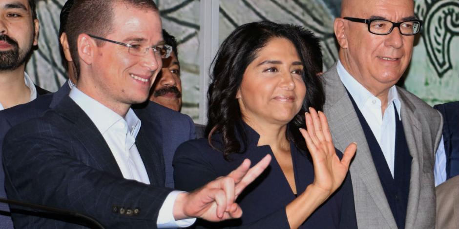 Barrales dejaría candidatura en CDMX por el Frente