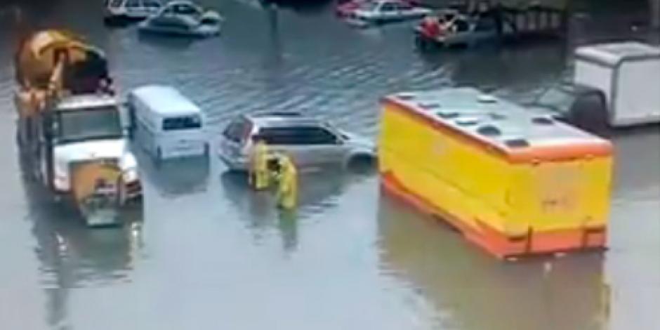 Tras lluvia, reportan 3 encharcamientos en la GAM