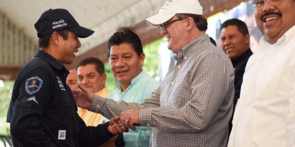 Refrenda Graco Ramírez no dar marcha atrás al modelo de policial