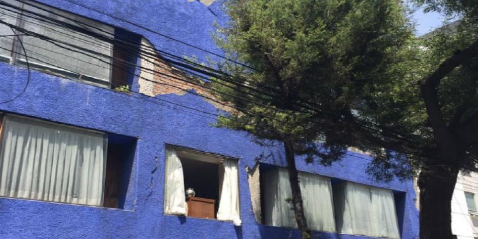 Benito Juárez y Cuauhtémoc, con más edificios derrumbados