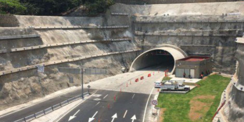Hoy abre primer tramo del túnel carretero más largo del país