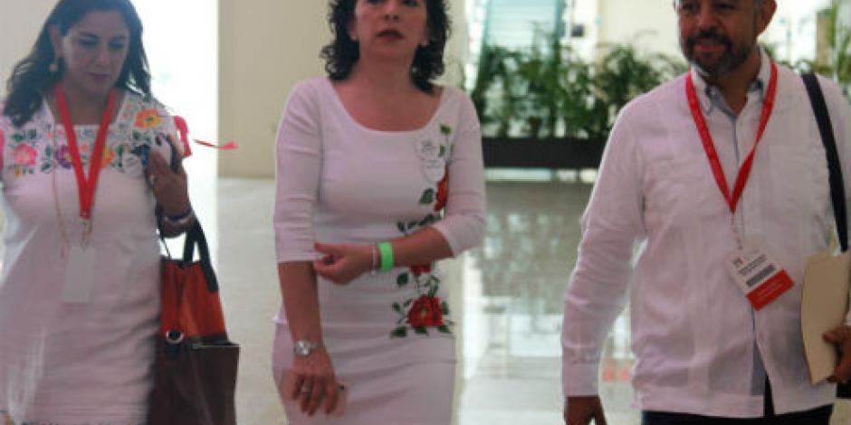 """Tras """"tirar"""" candados, PRI va por quitar fuero, afirma Ivonne Ortega"""
