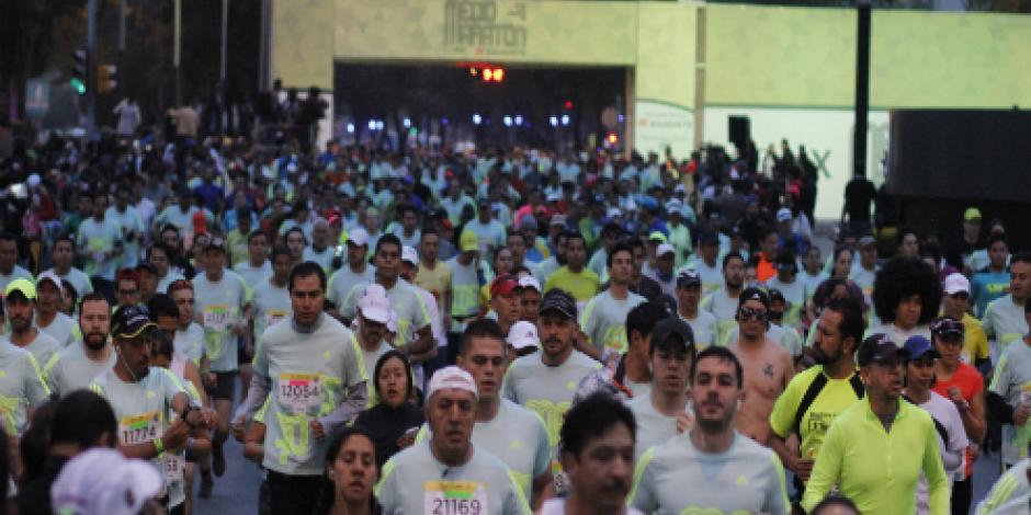 El 29 de julio, fecha límite para inscribirse al Medio Maratón de la CDMX