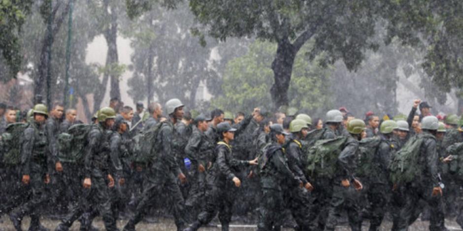 Mueren 11 en enfrentamiento con militares en Venezuela