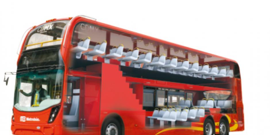 Contra asaltos, ecológicos... los  buses de Reforma