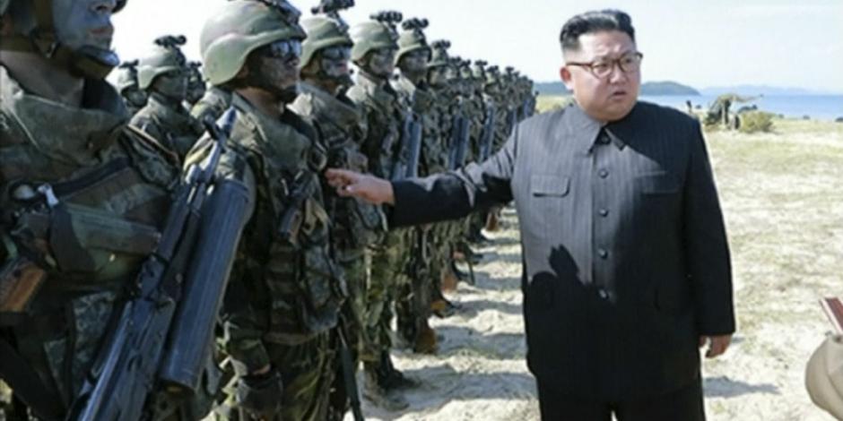 Norcorea amenaza con hundir a Estados Unidos bajo el agua