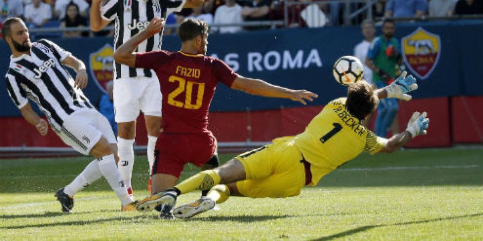 Cae la Roma de Héctor Moreno 5-4 ante la Juve en penales
