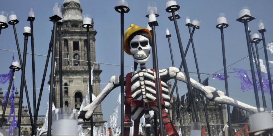 FOTOS: México es ofrenda; así se rinde a los que se fueron