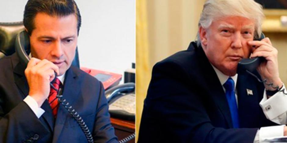EPN ofrece ayuda a Trump por <em>