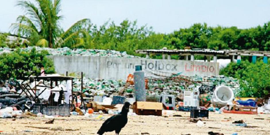 Parque Alacranes pone ejemplo a Holbox en cuidado ambiental