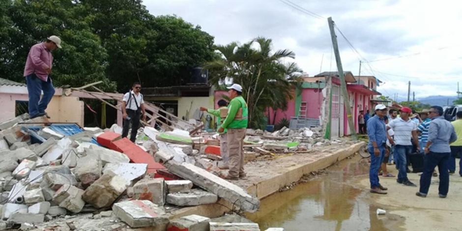 Registran sismo de 5.6 grados en Tonalá, Chiapas