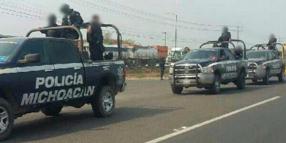 Aseguran armas y droga tras enfrentamiento en Tepalcatepec