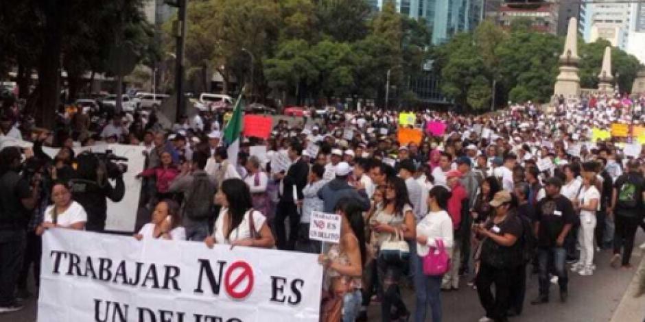 Denuncian extorsiones contra comerciantes del Centro Histórico