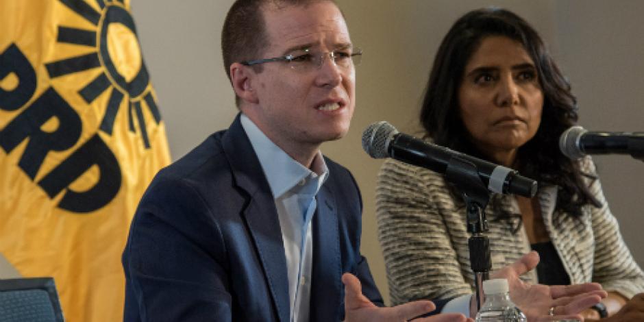 Frente Amplio Opositor no es sólo para sacar al gobierno en turno, asegura Anaya