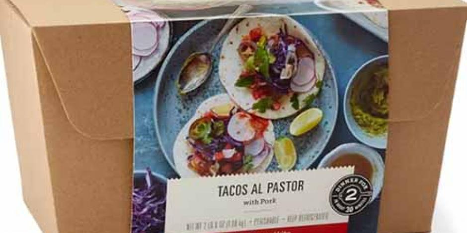 Amazon vende paquetes con tacos al pastor a domicilio en EU