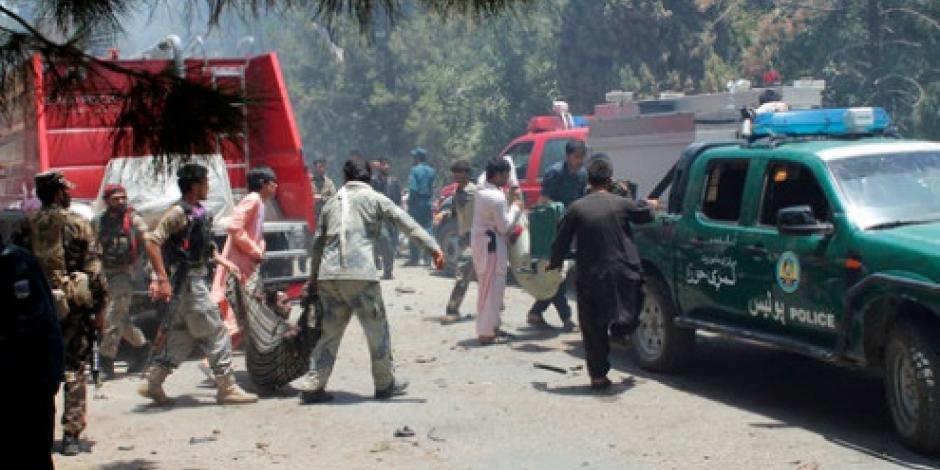 Ataque fallido de EU mata a 12 policías afganos