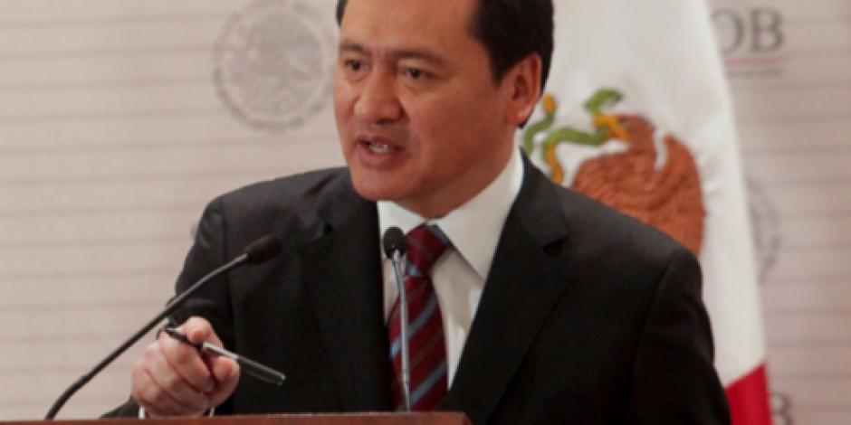 Pide Osorio Chong confiar en proceso penal contra Javier Duarte
