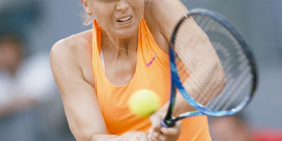 Luego de tres años, Masha, al US Open