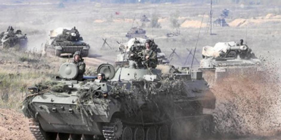 Rusia amenaza con la mayor maniobra militar a la Unión Europea
