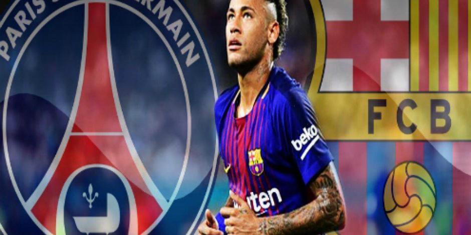 ¡Adiós, adiós! Neymar se despide de compañeros del Barcelona