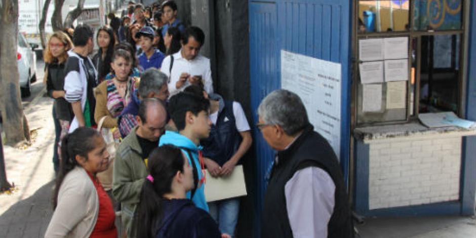 Admite UNAM a 3 mil de los 11 mil jóvenes rechazados por error en resultados