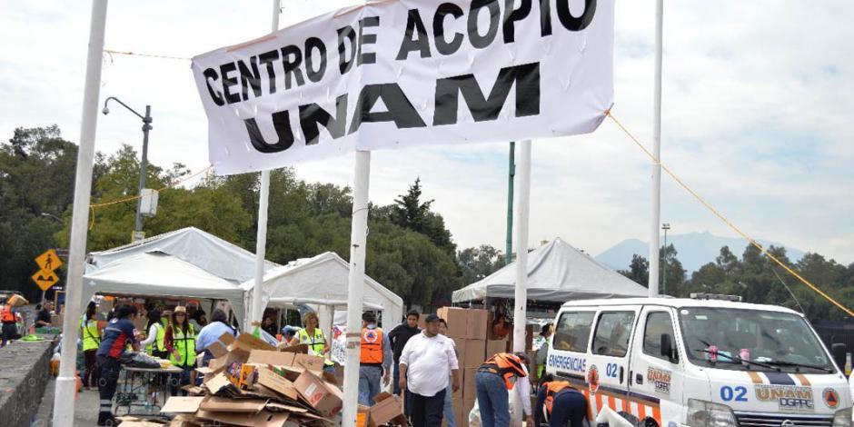Grupo externo se apodera de centro de acopio de la UNAM