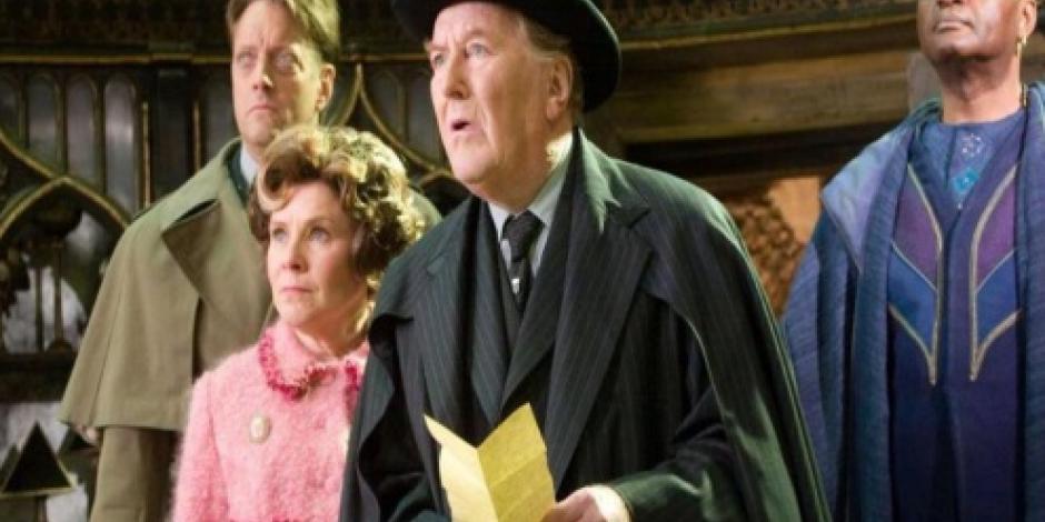 Hogwarts está de luto; muere Robert Hardy a los 91 años