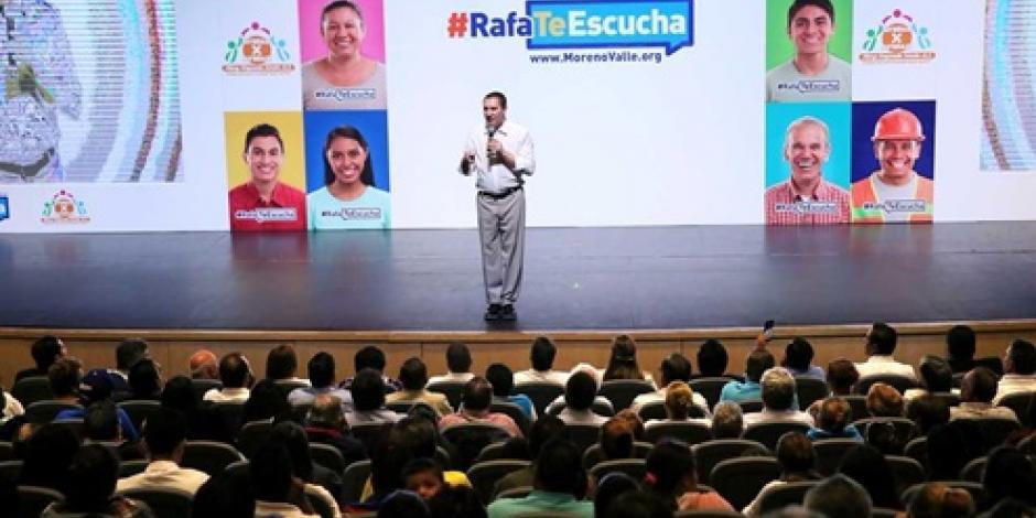 Coalición rumbo al 2018 debe otorgar gobernabilidad al país, afirma Moreno Valle