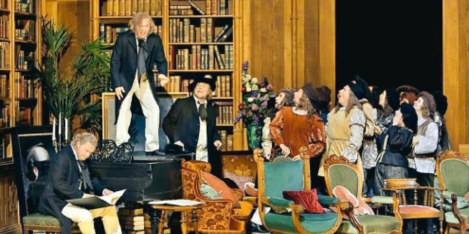 Director judío monta ópera favorita de Hitler
