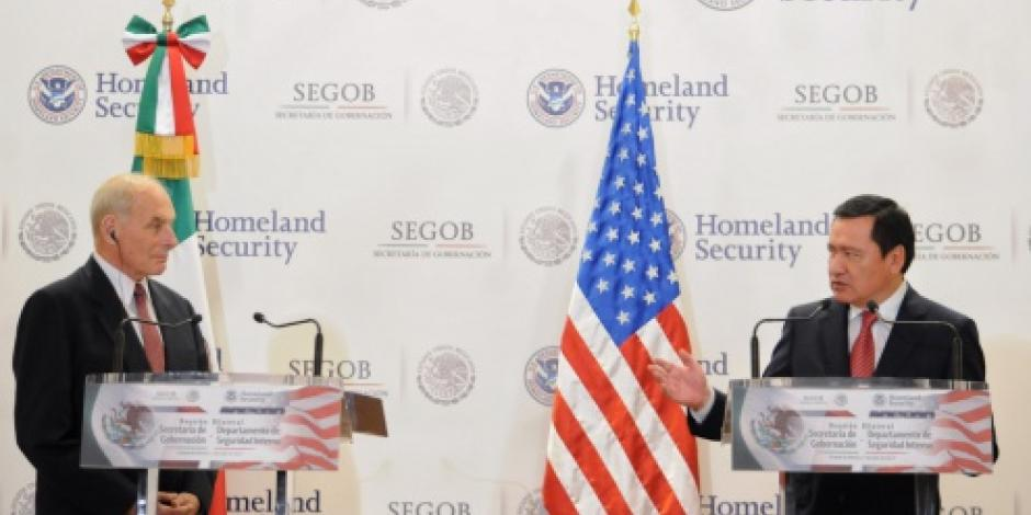 Reitera Osorio ante Kelly necesidad de ampliar esfuerzos en la lucha contra el narcotráfico