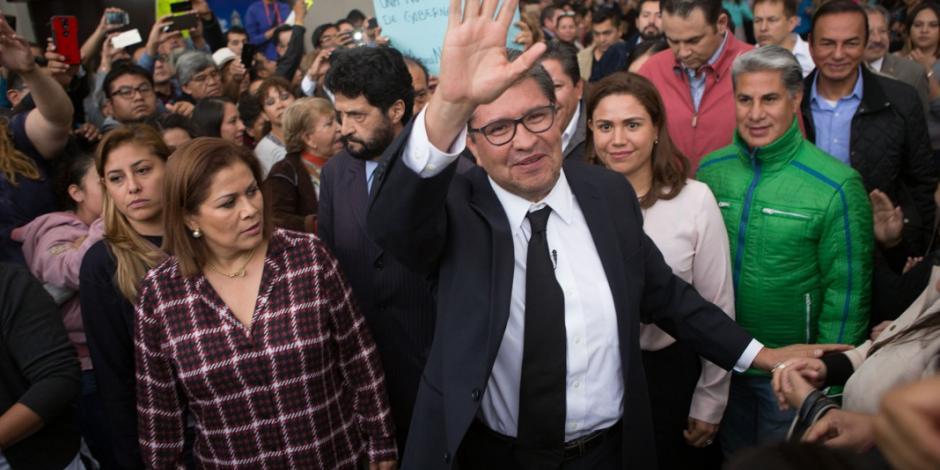 Critica Monreal a Morena por rechazar nueva encuesta