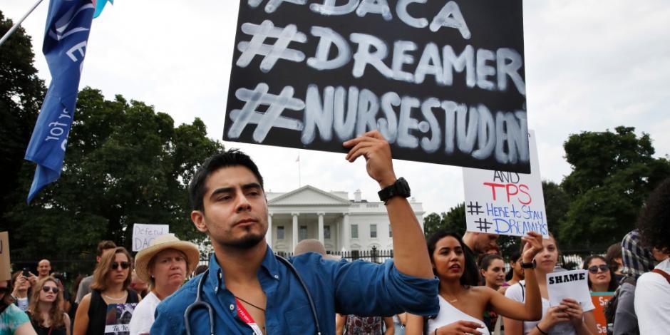 Tras cancelación del DACA, va México por apoyo a <em>dreamers</em>