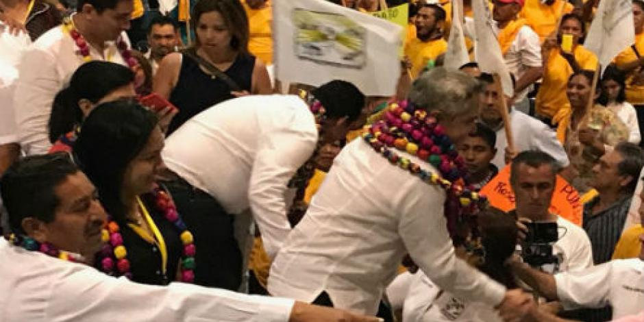 Mancera acude a reunión nacional campesina en Acapulco