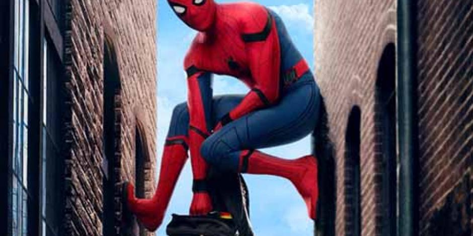 Revelan traje inédito de Spider-Man Homecoming