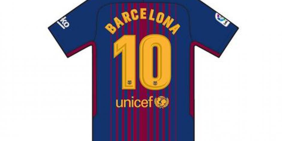 Así será la camiseta que lucirá el Barcelona en su próximo partido