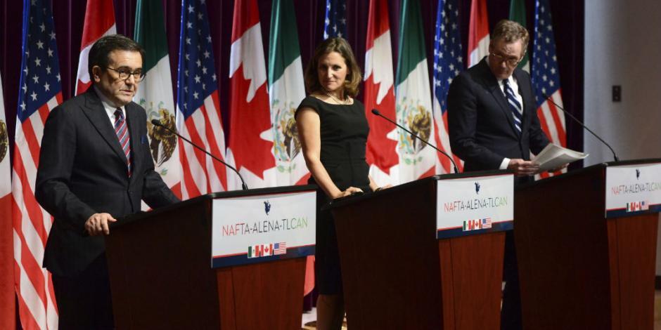 Acuerdan México, Canadá y EU incluir a Pymes en TLCAN