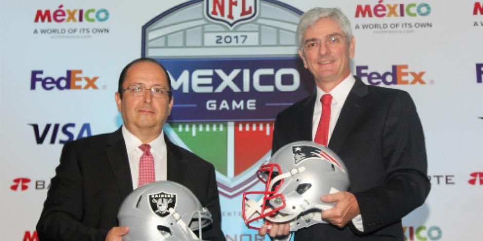 Boletos para <em>Raiders-Patriots</em> en México entre 650 y 6 mil 550 pesos