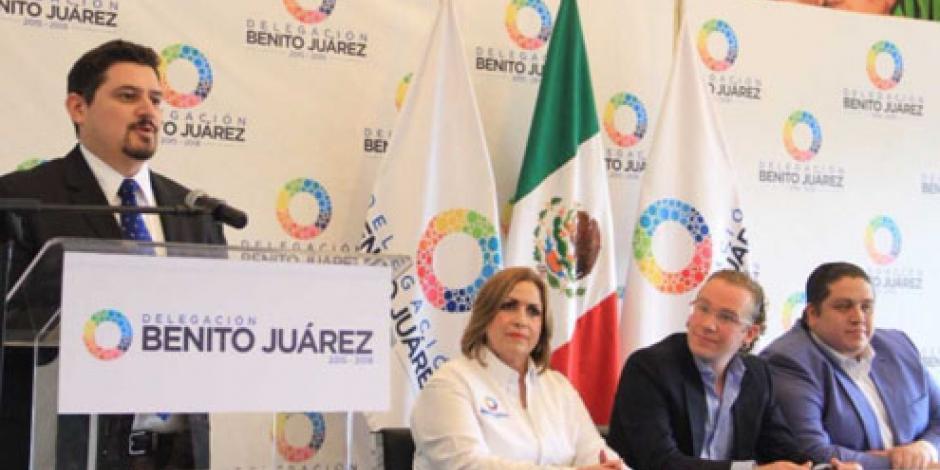 Delegación Benito Juárez invita al