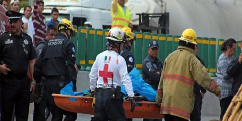 Revelan peritajes que víctimas del socavón en Paso Exprés murieron por asfixia