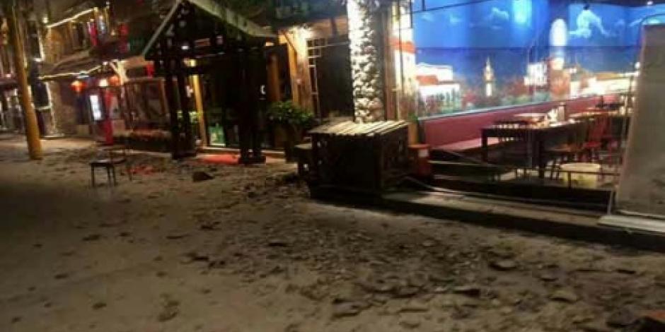 Terremoto de 7.0 grados Richter golpea suroeste de China