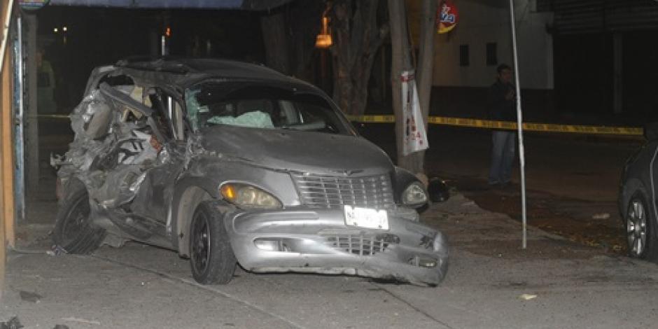 Adolescente muere en accidente vial en Azcapotzalco