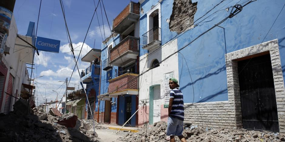 Estiman 12 mil viviendas afectadas en Puebla por sismo