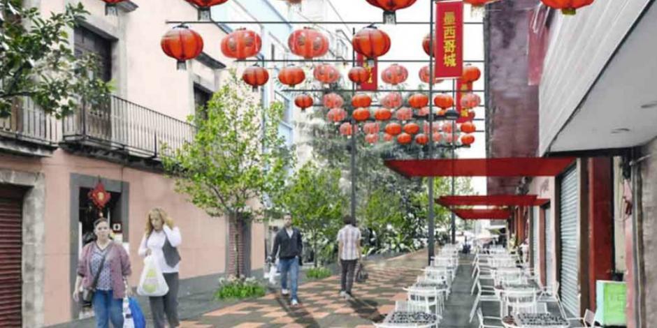 Anuncian renovación del Barrio Chino CDMX